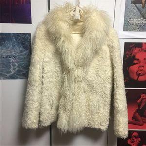 Jackets & Blazers - Mongolian Fur Coat